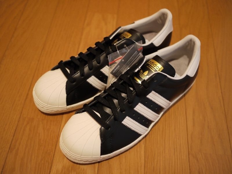 new style b179f 56d32 adidas Superstar 80s Vintage Deluxe Black/White | SADAOMIX ...